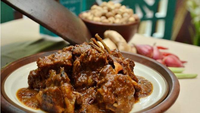 gambar makanan khas gorontalo Sate Kambing Balanga
