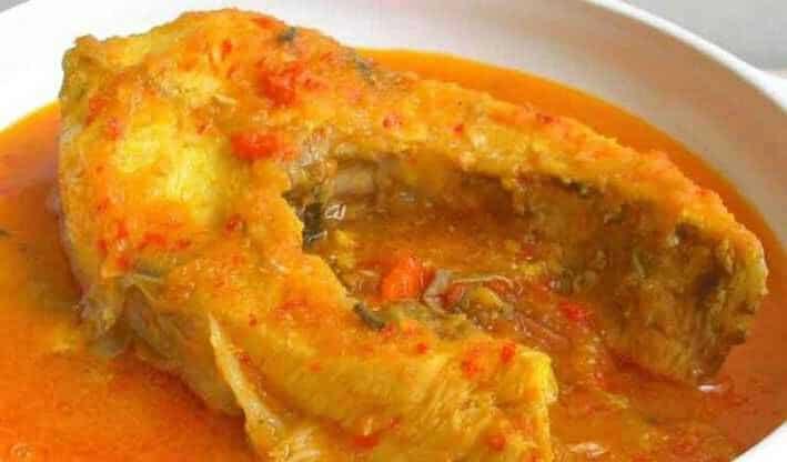 gambar makanan khas kalimantan barat Asam Pedas Tempoyak