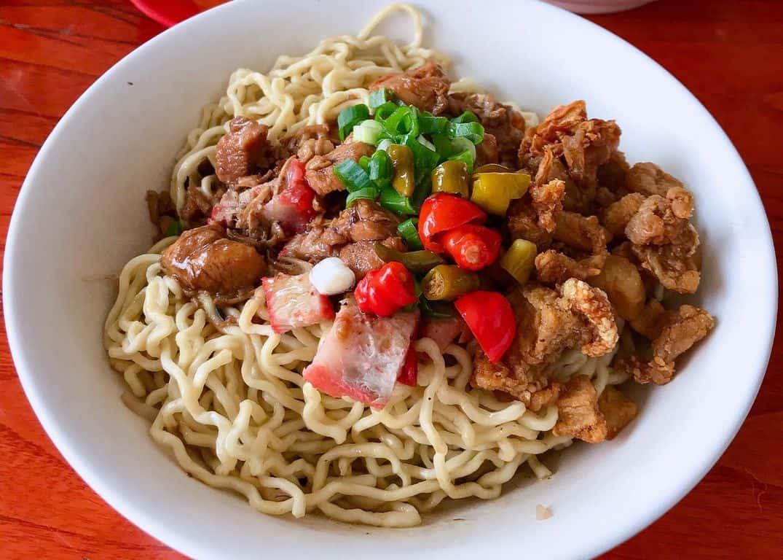 gambar makanan khas kalimantan barat Bakmi Keriting