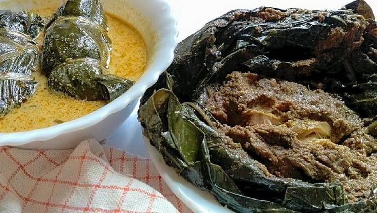 gambar makanan khas kalimantan barat Botok Daun Mengkudu
