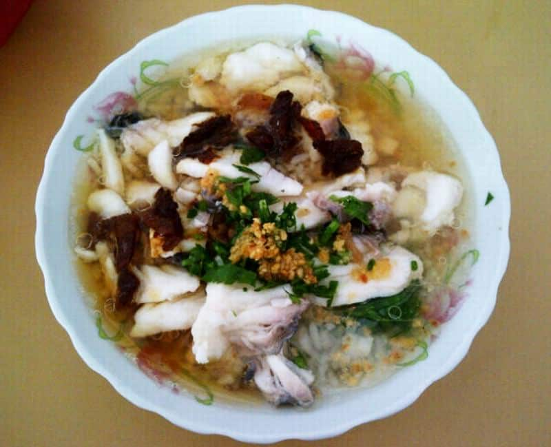 gambar makanan khas kalimantan barat Bubur Ikan