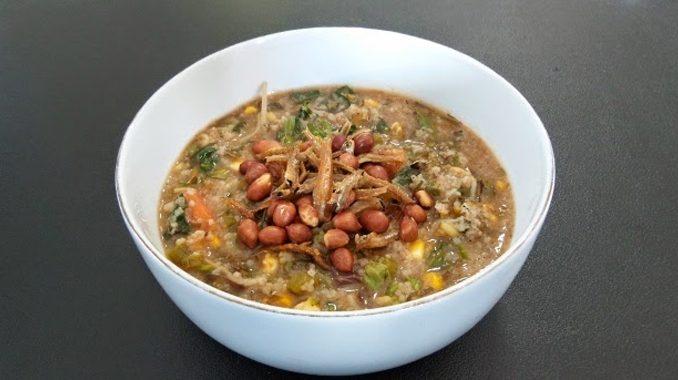 gambar makanan khas kalimantan barat Bubur Pedas