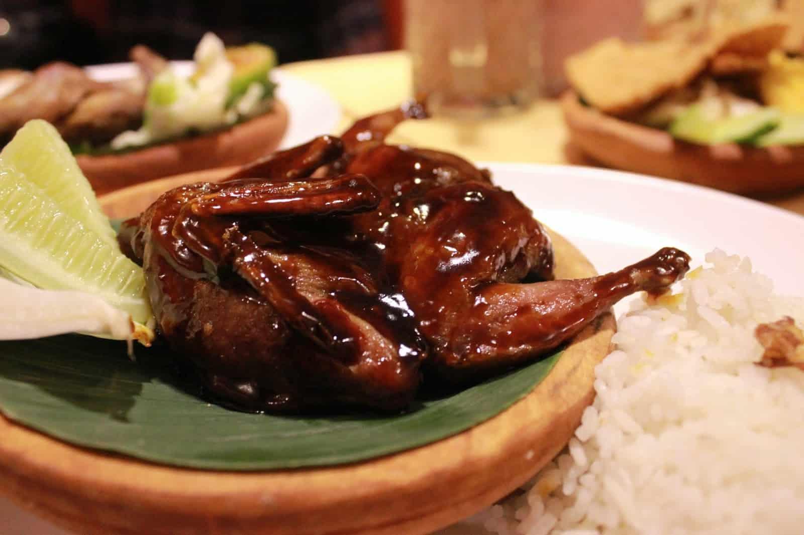 gambar makanan khas kalimantan barat Burung Punai