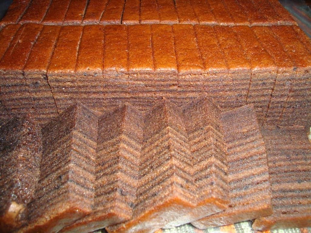gambar makanan khas kalimantan barat Kue Lapis Belacan