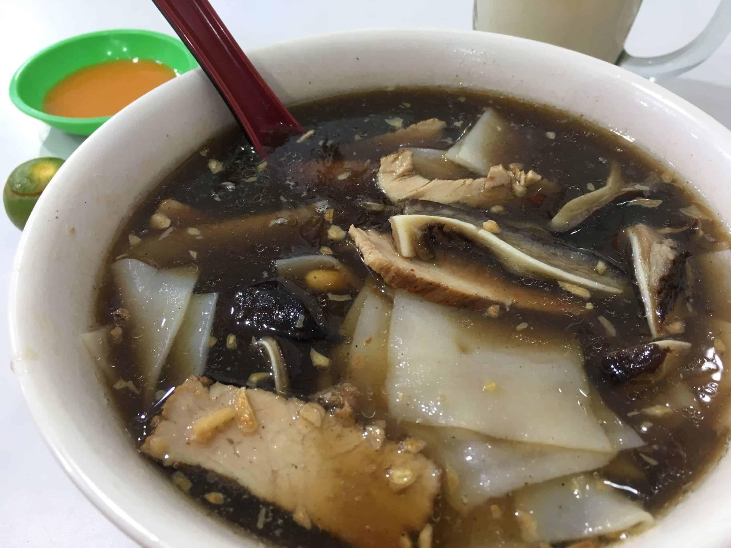 gambar makanan khas kalimantan barat Kwe Kia Teng