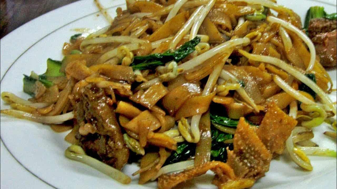 gambar makanan khas kalimantan barat Mie Tiaw Asu