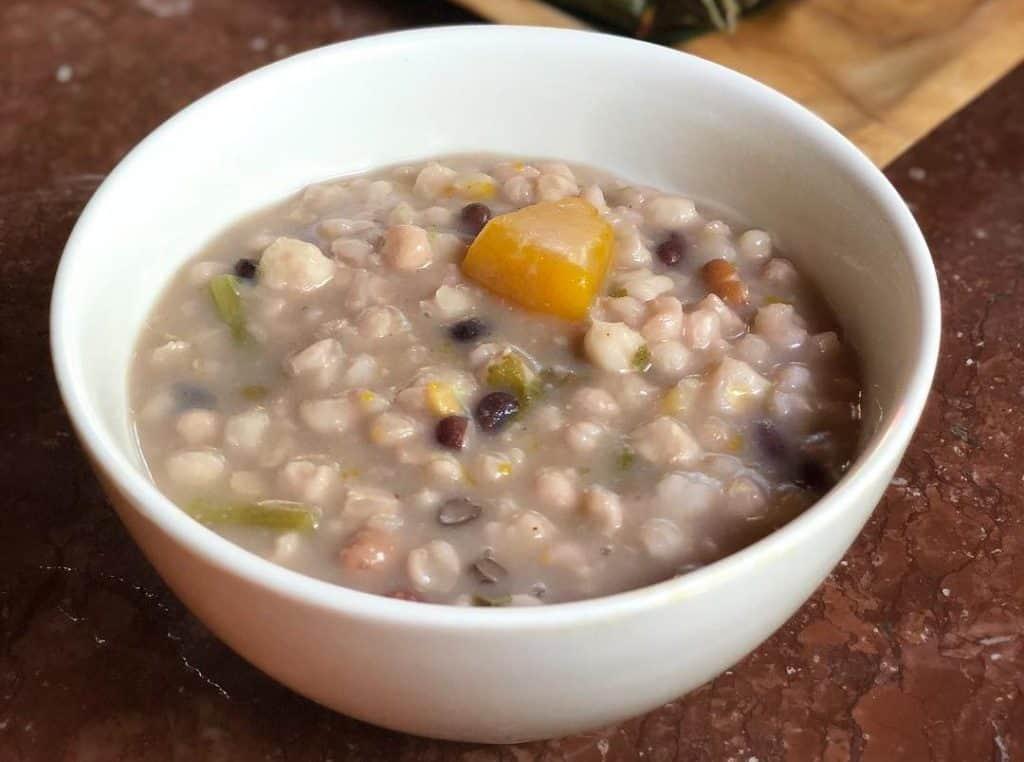 gambar makanan khas ntt Jagung Bose