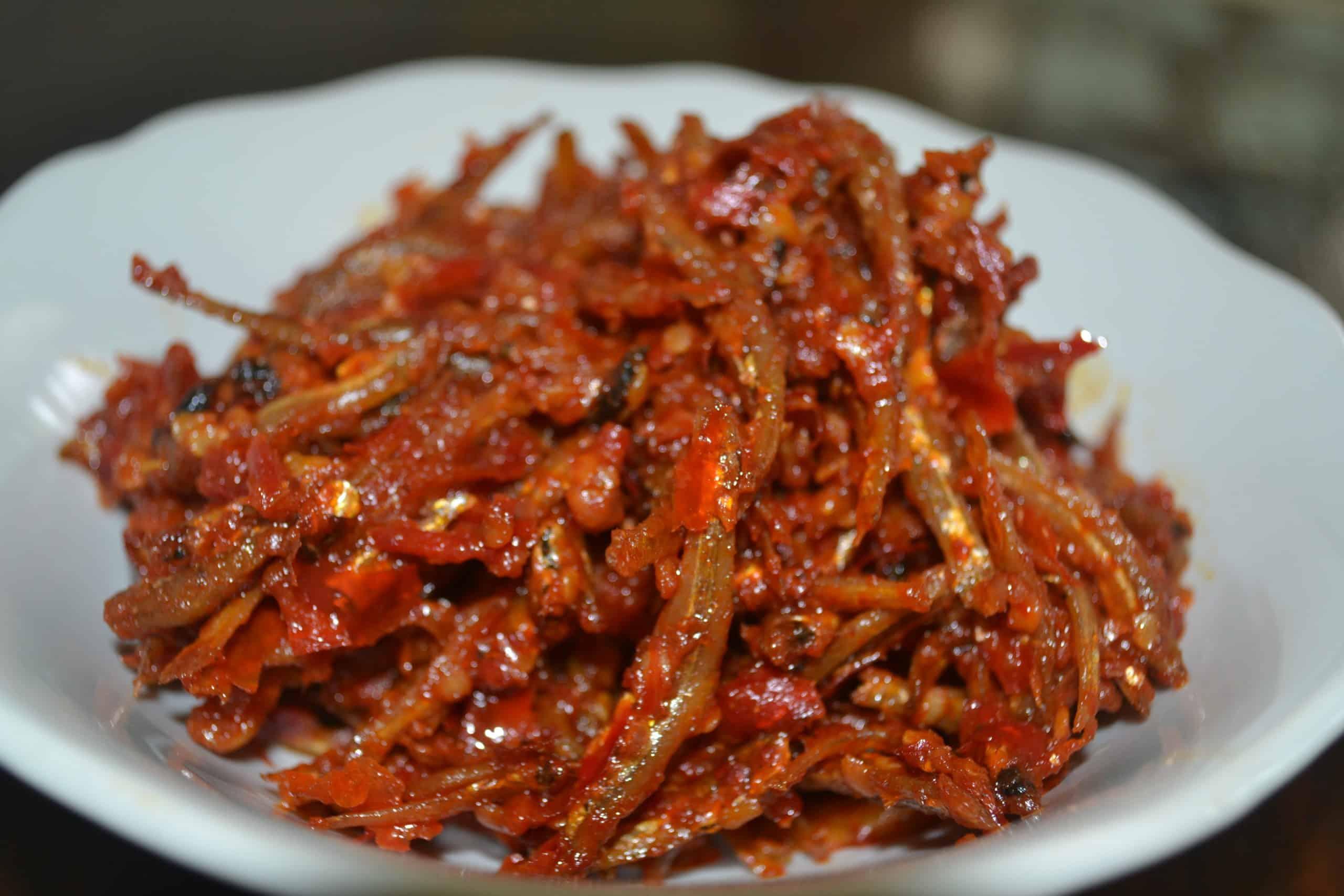 gambar makanan khas ntt Sambal Teri Khas NTT
