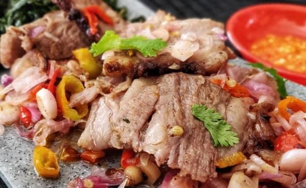 gambar makanan khas ntt Se'i Daging Sapi Asap