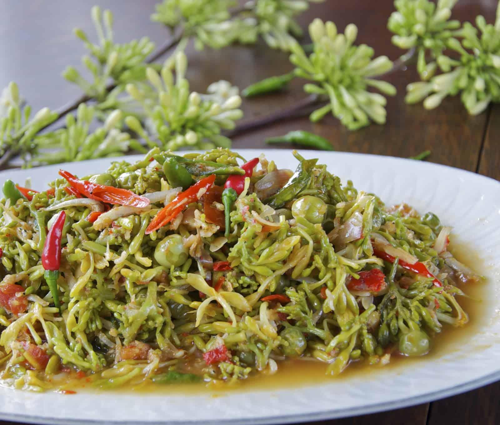 gambar makanan khas ntt Tumis Bunga Pepaya