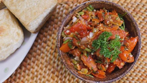 gambar makanan khas ntt sambal lu'at