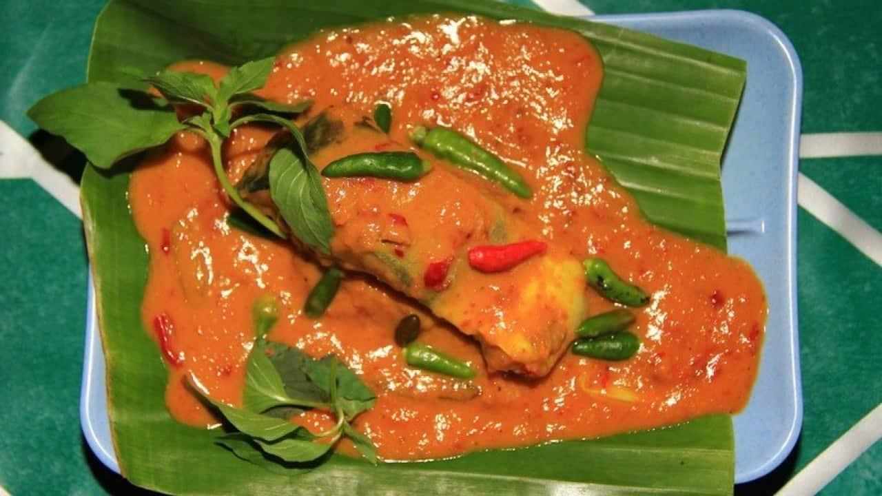 gambar makanan khas palembang Brengkes Tempoyak