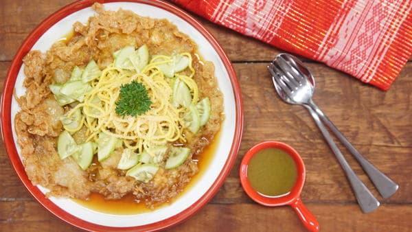 gambar makanan khas palembang Lenggang