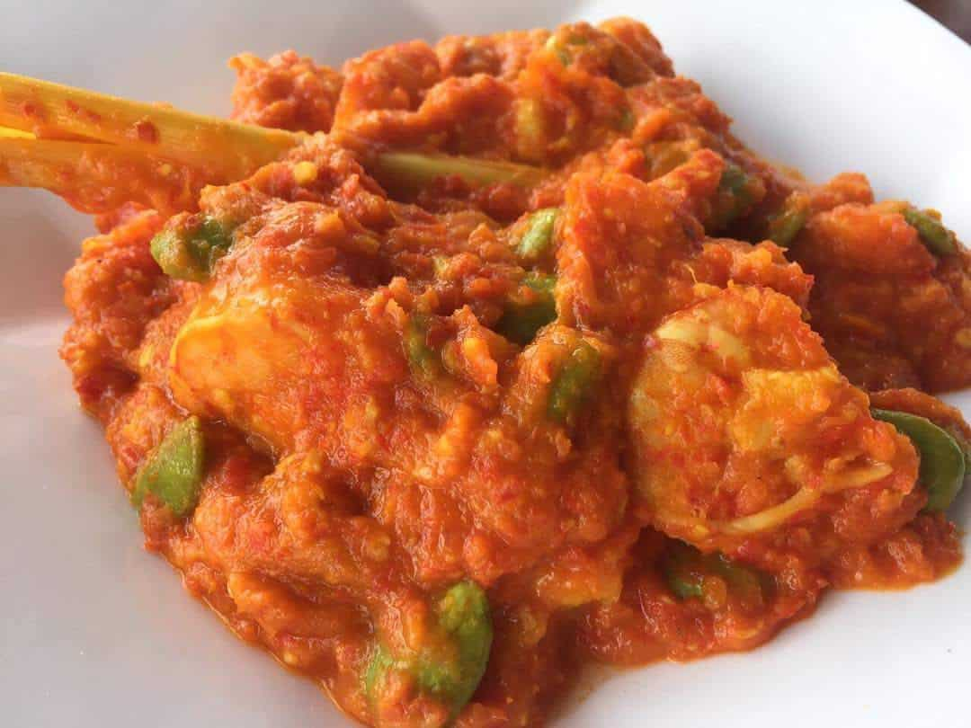 gambar makanan khas palembang Sambal Tempoyak