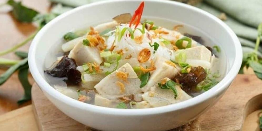 gambar makanan khas palembang Tekwan