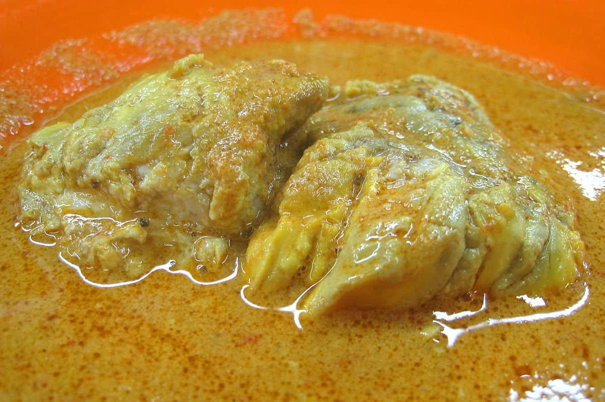 gambar makanan khas sumatera barat Gulai Banak