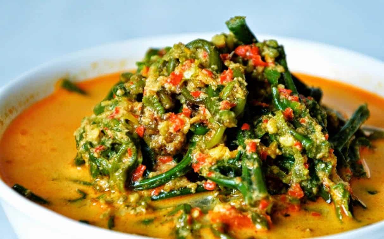 gambar makanan khas sumatera barat Gulai Paku