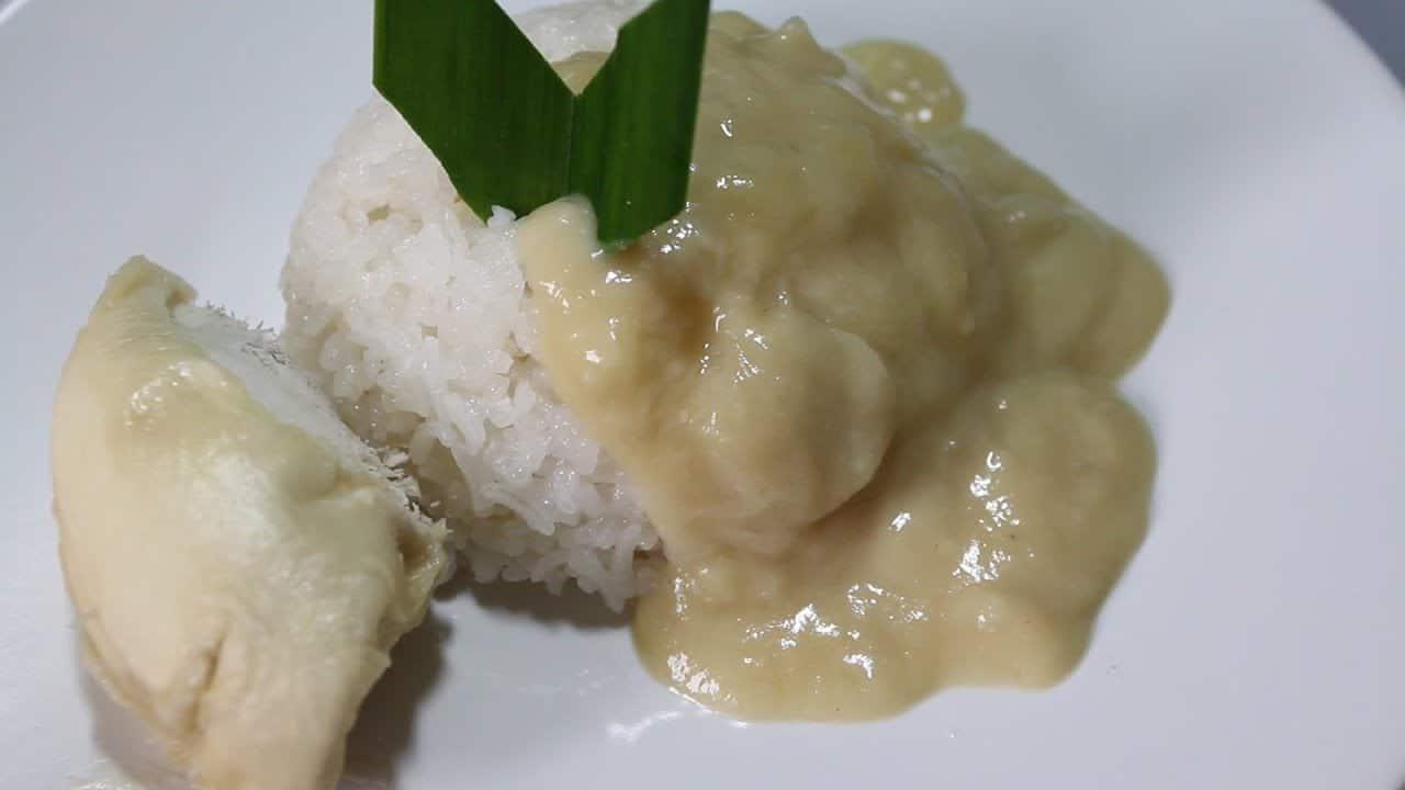 gambar makanan khas sumatera barat Katan Durian