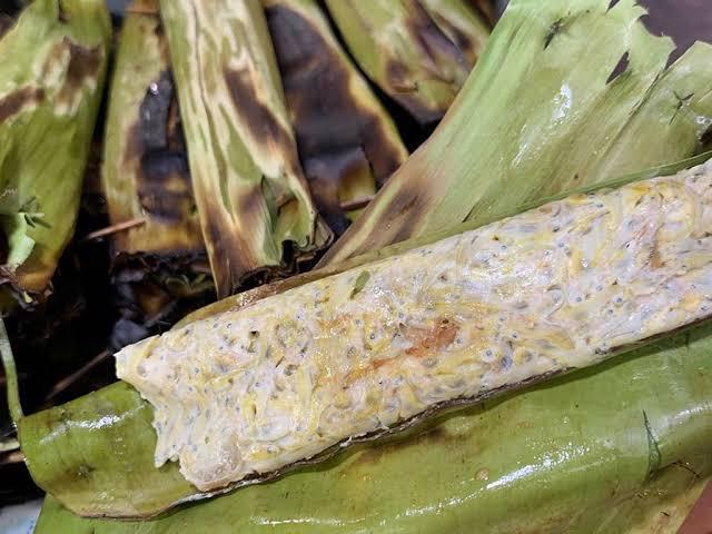 gambar makanan khas sumatera barat Palai Rinuak