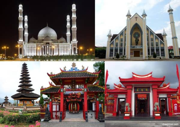 gambar unsur kebudayaan sistem religi