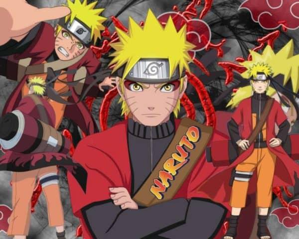 Gambar Naruto sage mode
