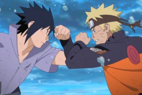 Gambar Sasuke dan Naruto
