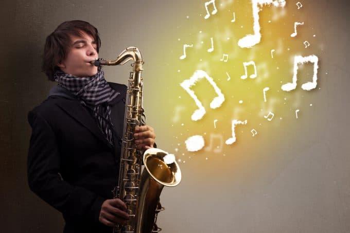 alat musik melodis saxophon saksofon