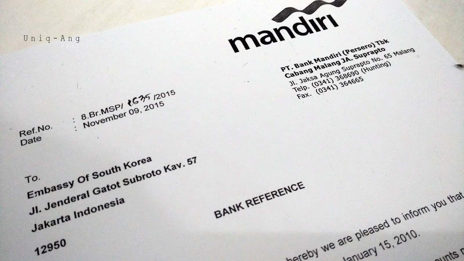 gambar surat referensi bank