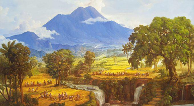 contoh aliran seni rupa naturalisme