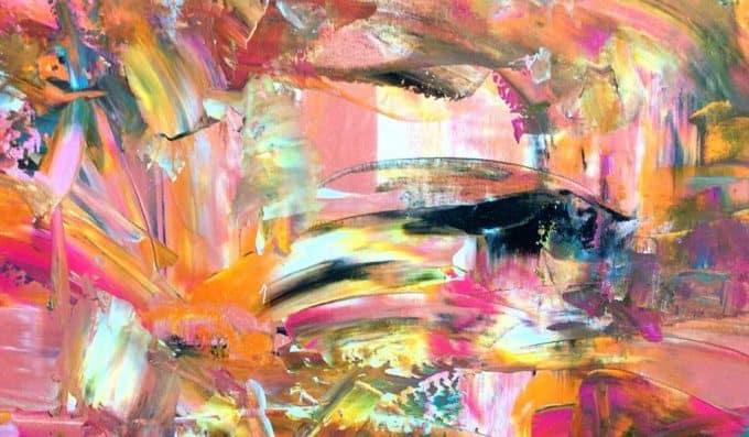 contoh seni rupa abstraksionisme