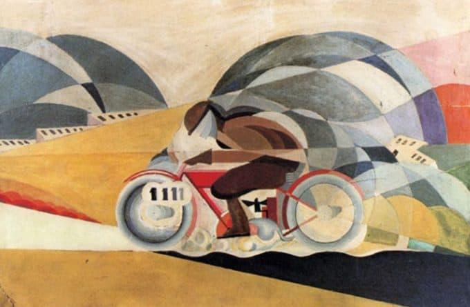 contoh seni rupa futurisme