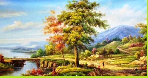 contoh seni rupa naturalisme