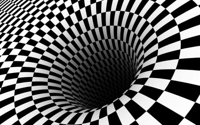 contoh seni rupa optik