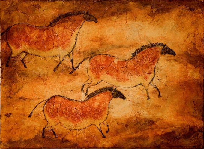 contoh seni rupa primitif