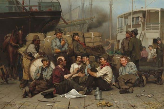 contoh seni rupa realisme 2