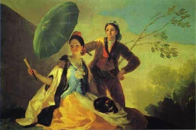contoh seni rupa romantisme
