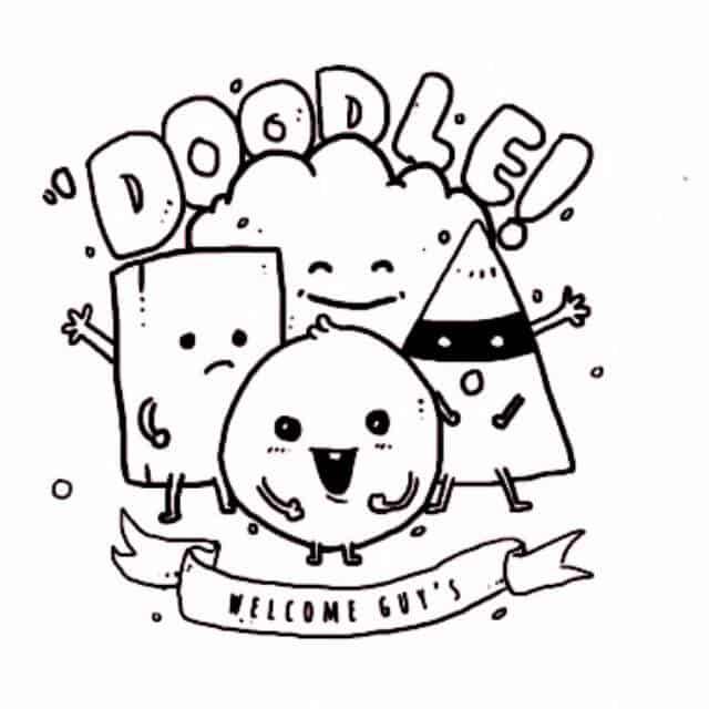 doodle simpel