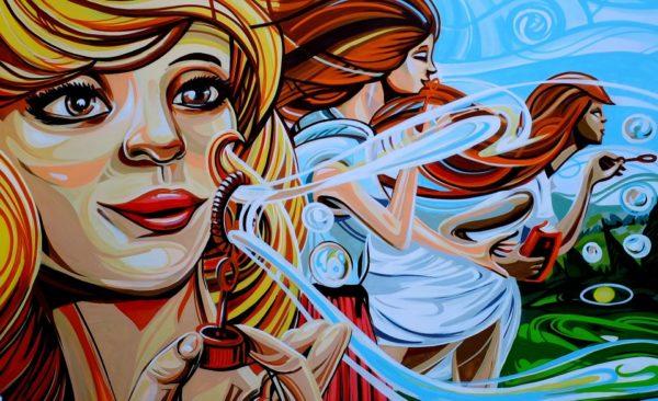 grafifi gadis bermain