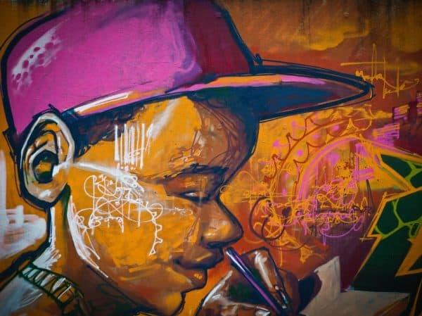 grafiti anak kecil