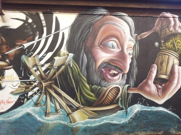 grafiti bajak laut