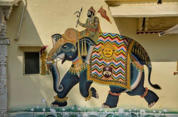 grafiti gajah