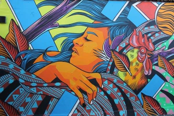 grafiti jalanan london