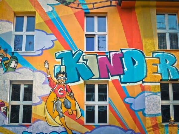 grafiti kinder