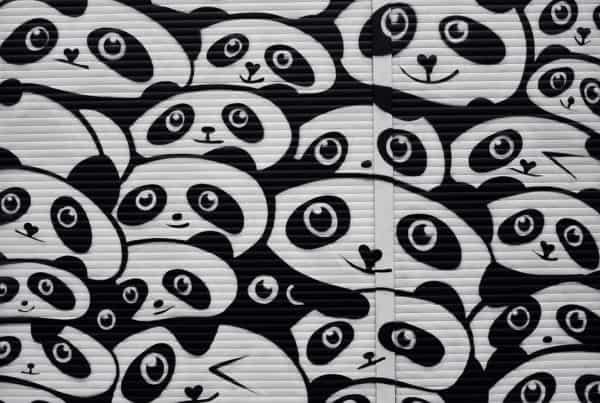 grafiti kungfu panda