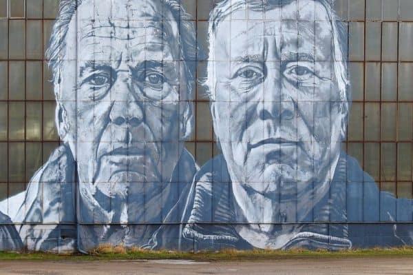 grafiti muka