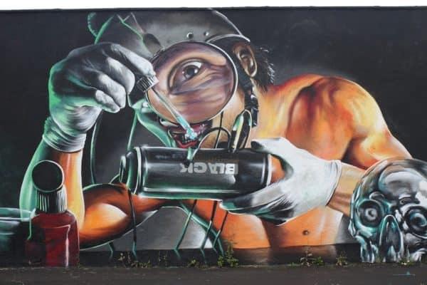 grafiti obat