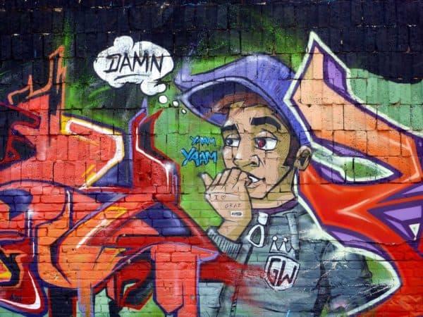 grafiti pemuda