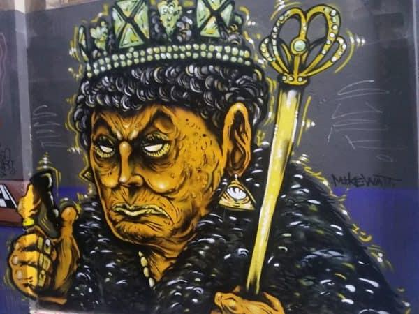 grafiti ratu