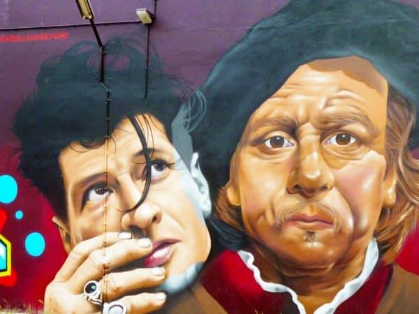 grafiti tokoh