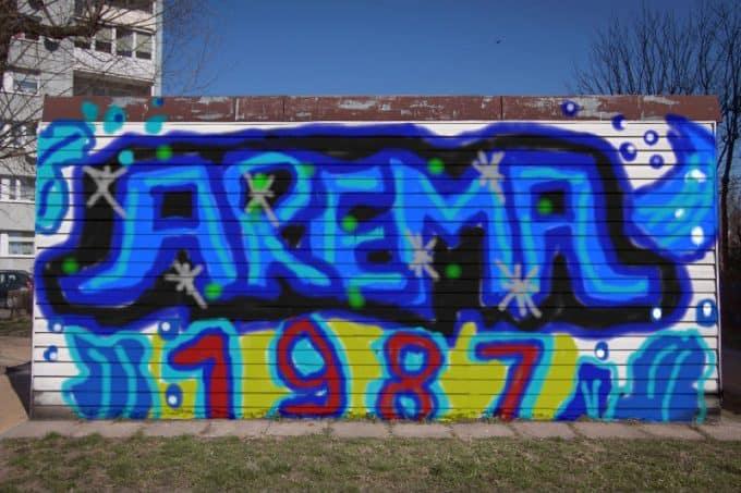 gambar grafiti arema malang
